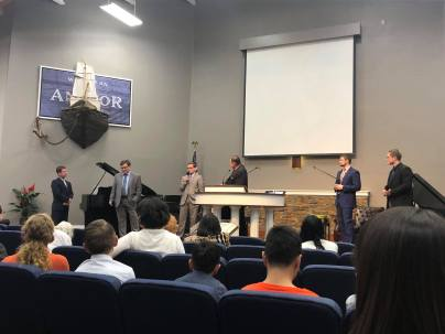Q&A at Coast Hills Baptist